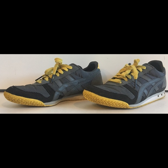 Onitsuka Tiger Ultimate 81 BlkYlwGry Sneaker